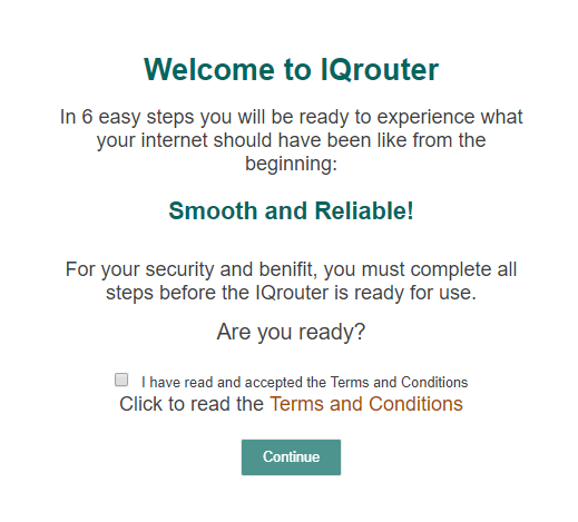How do I configure an IQrouter? – IQrouter